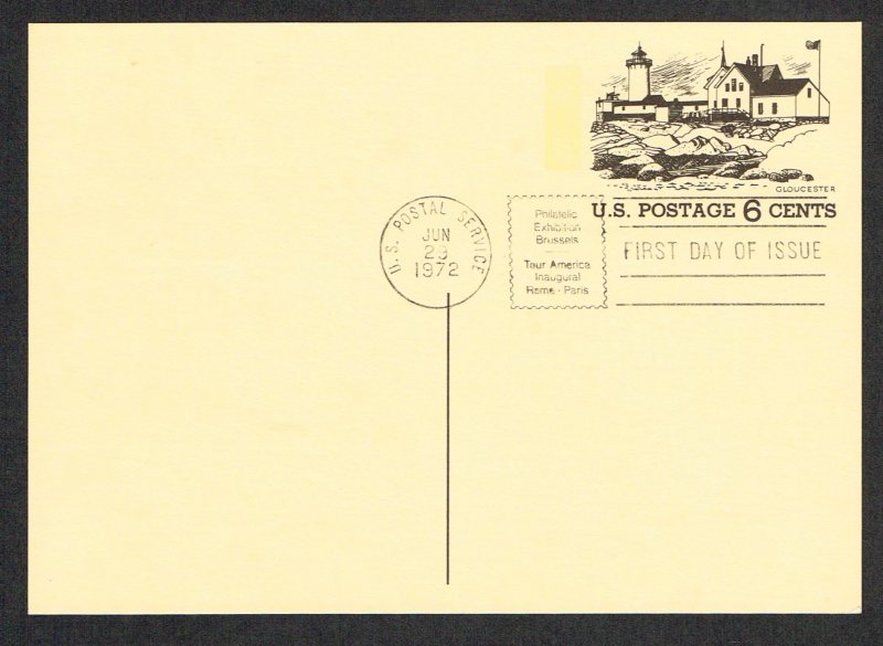 United States FDC Scott UX63