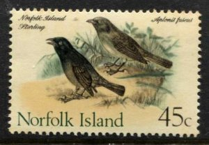 STAMP STATION PERTH Norfolk Island #138 Birds MNH -CV$2.80