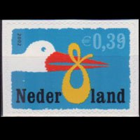 NETHERLANDS 2002 - Scott# 1109 Birth Set of 1 NH