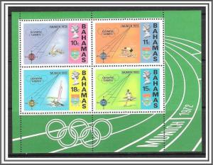 Bahamas #338a Olympics Souvenir Sheet MNH