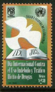MEXICO 2081, International. Day Against Drugs. MINT, NH. VF. (69)