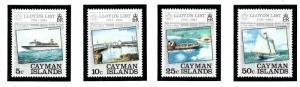 Cayman Is 522-25 MNH 1984 Lloyds List