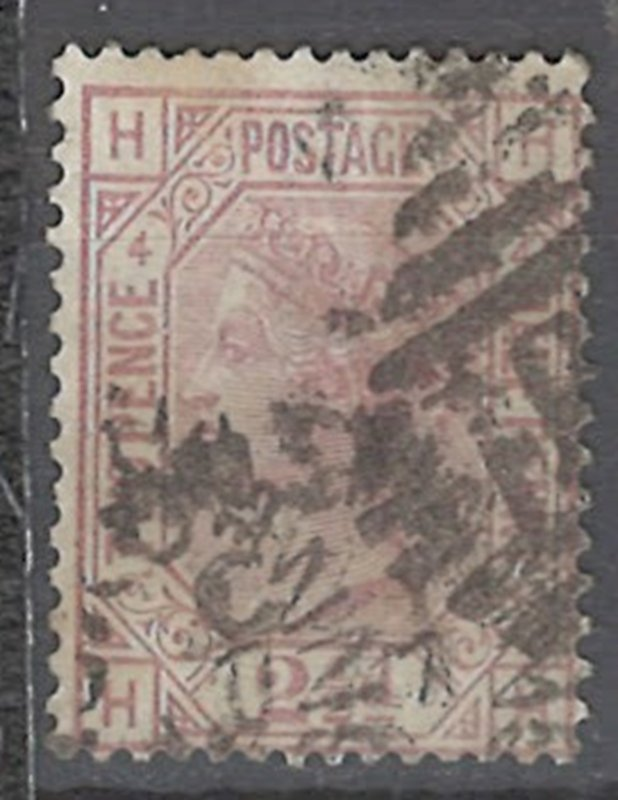 COLLECTION LOT # 2231 GREAT BRITAIN #67p4 1876 CV=$60