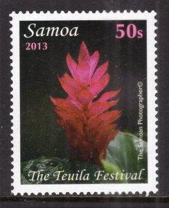 Samoa MNH 1161 Flowers 2013