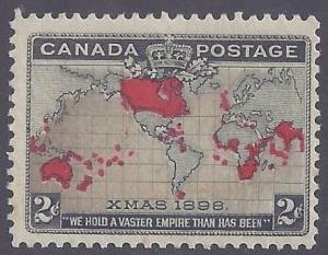 Canada scott #85 Mint PH OG VF