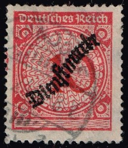 Germany #O49 Official - Numeral; Used (3Stars)