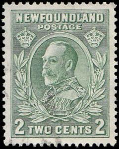 Newfoundland Scott 186 George V Used