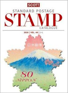 2020 Scott Standard Postage Stamp Catalogue, Volume 4 (J-M)