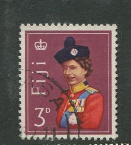Fiji - Scott 178 - QEII Definitive Issue -1962 - FU - Single 3d Stamp