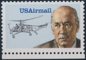 #C119 IGOR  SIKORSKY RED COLOR OMITTED MAJOR ERROR EXT. RARE XF-SUPERB WL761