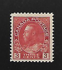 CANADA, 109, MH, KING GEORGE V