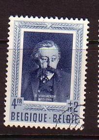 Belgium Sc B519 1952 Verhaeren stamp used