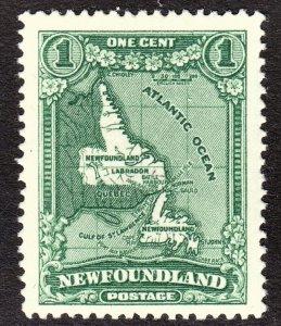 Newfoundland Scott 163 VF mint OG HR.