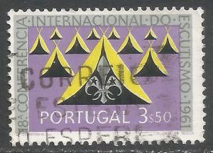 PORTUGAL 889 VFU SCOUTS L56-2