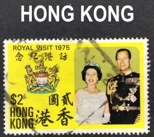 Hong Kong Scott 305  VF used. Key issue.