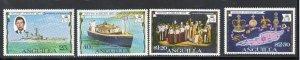 ANGUILLA Queen Elizabeth II 1977 Silver Jubille Set SG 269 to SG 272 MNH