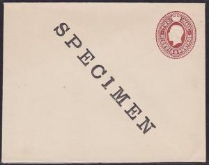 NIGERIA GVI 2d social size envelope optd SPECIMEN...........................1495