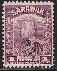 Sarawak 159 USED 1947 Sir Charles Vyner Brooke