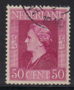Netherlands 1944 used liberation  50 ct     #