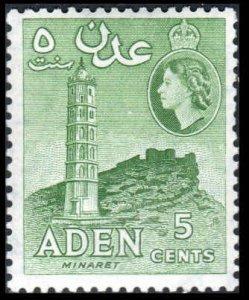 Aden  #48a  Mint LH
