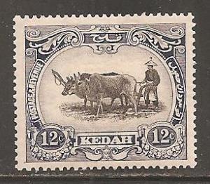 Malaya Kedah SC  34   Mint Hinged
