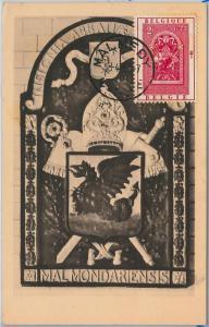 57045 - BELGIUM - POSTAL HISTORY: MAXIMUM CARD 1945 - Religion DRAGONS 1953