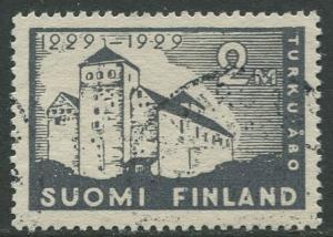Finland - Scott 157 - Turku Castle 700th Anniv. -1929- FU - Single 2m Stamp