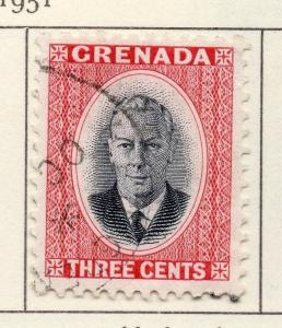 Grenada 1951 Early Issue Fine Used 3c. 028983