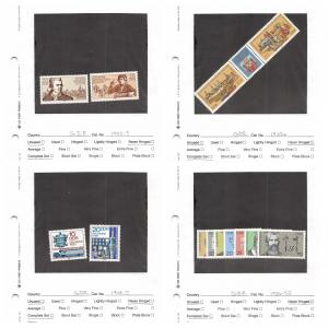 Lot of 118 Germany DDR MNH Mint & MH Stamps Range # 1901 - 2097 #141460 X R