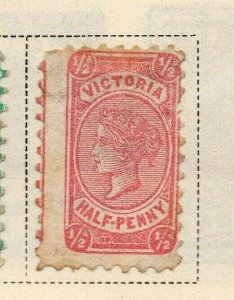 Victoria 1873-81 Early Issue Fine Mint Hinged 1/2d. 326796