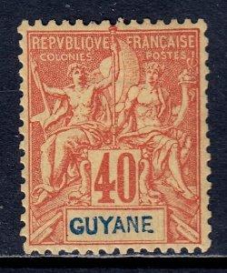 French Guiana - Scott #45 - MH - SCV $22