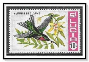 St Lucia #241 Hummingbird MNH