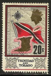 Trinidad & Tobago 1969 Scott# 152 Used (corner)