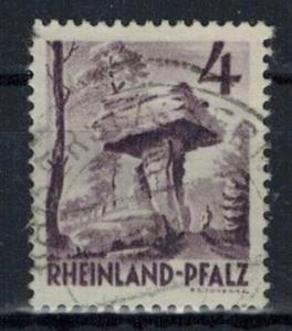 Germany - French Occupation - Rhine Palatinate - Scott 6N31