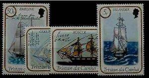 Tristan da Cunha 324-27 MNH Ships SCV2.85