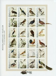 Bonaire Caribbean Netherlands Stamps 2021 MNH Dutch Birds Nozeman & Sepp 24v M/S