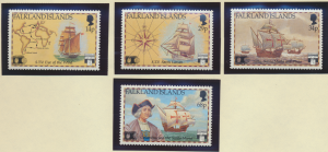 Falkland Islands Stamps Scott #545 To 548, Mint Never Hinged - Free U.S. Ship...