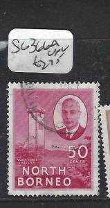 NORTH BORNEO   (P2704B)  KGVI  50C   SG 366A   VFU