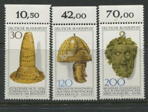Germany -Scott 1258-1260- General Issue-1977 - MNH - Set of 3 Stamps
