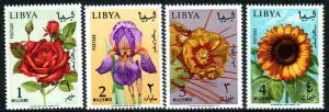 Libya  Scott  284-287  MNH  Complete