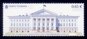 Estonia Sc# 910 MNH National University Tartu Centenary