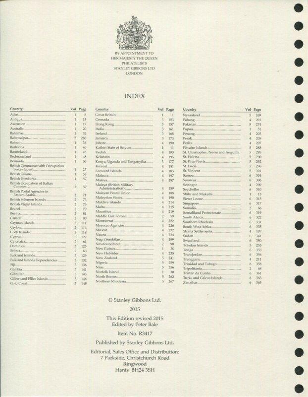 Stanley Gibbons Limited King George VI Hingeless Stamp Album 6 Volume Set #R3417