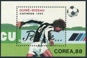 Guinea Bissau 26,MNH.Michel 942 Bl.271. Olympics,Seoul-1988.Soccer.