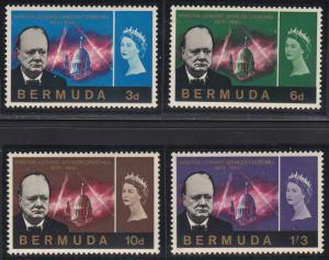 Bermuda 201-204 MNH (1966)
