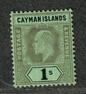 Cayman Islands Sc#29 M/H/VF-EF, Wmk 2, Cv. $85