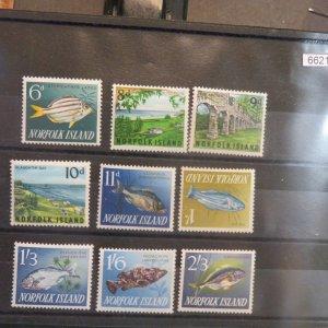 Norfolk Island Sc.50-60 Mint, NH OG VF Missing #49 1962 Cv. $14.90