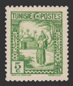 TUNISIA 1931 SCOTT # 125. UNUSED.