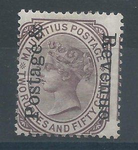 Mauritius 123 LH