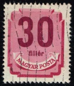 Hungary #J189 Postage Due; Used (0.25)