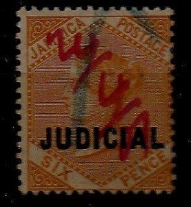 Jamaica 23 used ovpt. Judicial